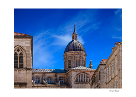 Old Dubrovnik Church and Dome