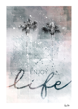 Idyllic palm trees | enjoy life