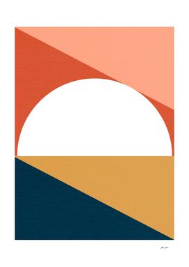 Mid Century Modern Sunrise
