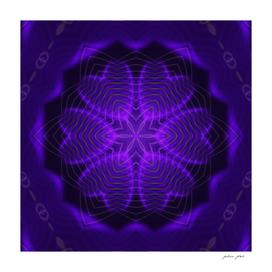 Purple Heart Mandala