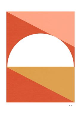 Mid Century Modern Sunset