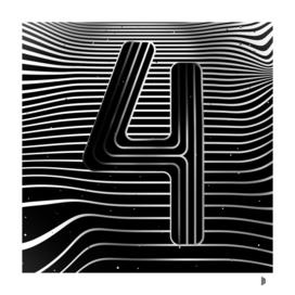 Number «4»