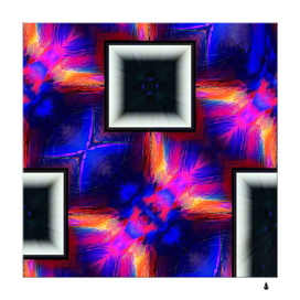 Box abstract frame square