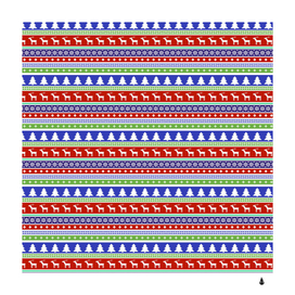 christmas color stripes pattern