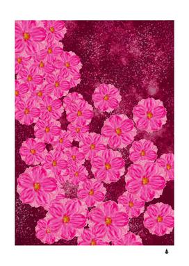 Cherry blossoms floral design
