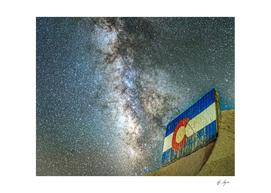 Milky way Galaxy Long Exposure