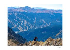Copper Mountain Ski Resort Summer View