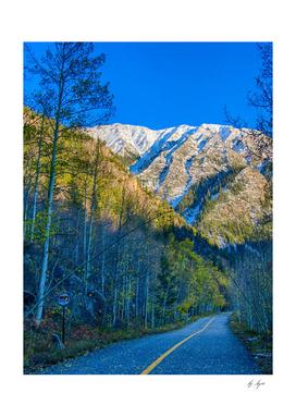 Rocky Mountain Sunrise Beautiful Fall Colors