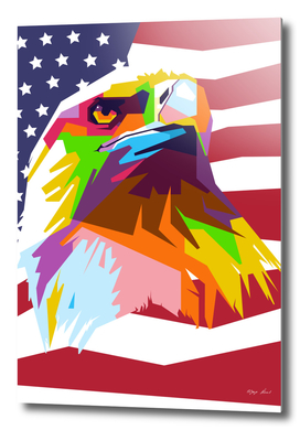 The Eagle of United States