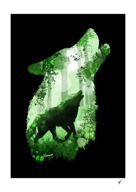 Evergreen Wolf