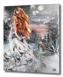 Winter ice princess