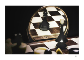 Chess in mirror