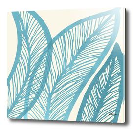 Blue Banana Leaf