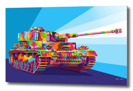 Panzer IV ausf. J in WPAP Modern Art