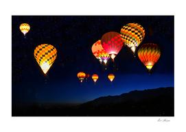 Light over Albuquerque
