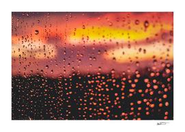 Rainy, Cozy Sunset