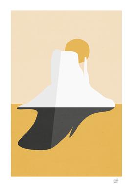 Abstract Mesa - Golden Desert