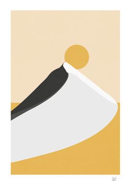 Abstract Dune - Golden Desert
