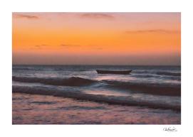 Seascape Sunset at Jericoacoara, Ceara, Brazil