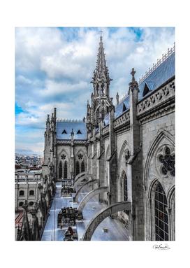 San Juan Basilica Cathedral Quito, Ecuador