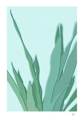 Minimal Snake Plant Leaves - Greener Eden