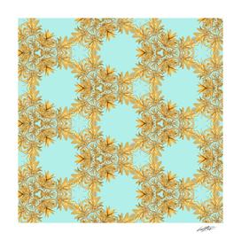 GOLD LEAF pattern