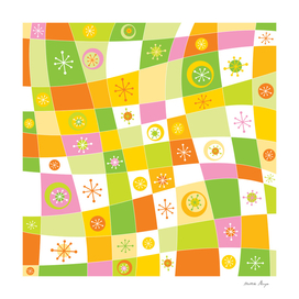 COLOURFUL ABSTRACT PATTERN