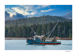 Shrimpers in Alaska