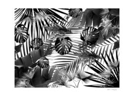Tropical Jungle Leaves Siesta #4 #tropical #decor #art