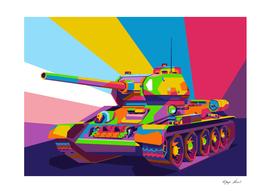 T34 85 Soviet Medium Tank