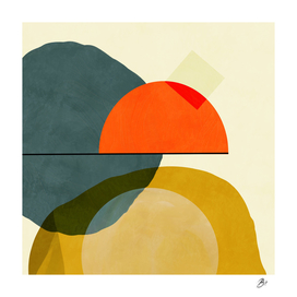 geometric shapes painting abstract I