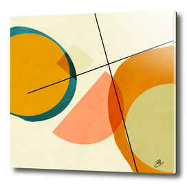 geometric shapes painting abstract II
