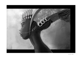 Princesse Africaine Couronne