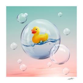 THE BUBBLE Ducky