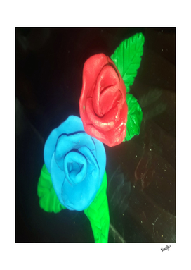 clay roses