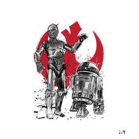 Rebel Droids
