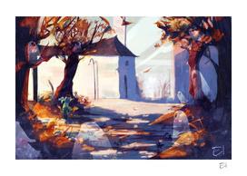 Falling Leaves #1