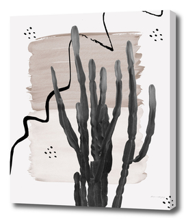 Cactus Abstract - Naturelle #1 #minimal #wall #decor #art