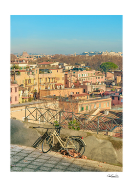 Gianicolo district Viewpoint, Rome, Italy