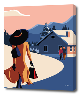 The Blue Hat Girl / Home
