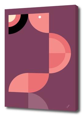 Quadrant Flamingo