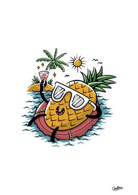 Pineapple Relaxing