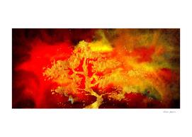 Golden Tree in Flames