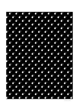 BOMB PATTERN - BLACK & WHITE - LARGE