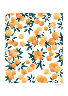 Orange Twist Flower Vibes #6 #tropical #fruit #decor #art