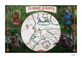 Map of Redwall