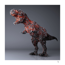 Abstract T-Rex