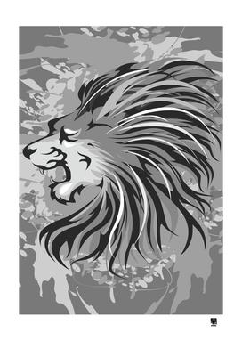 Lion Face Vector