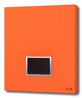 Breathes orange