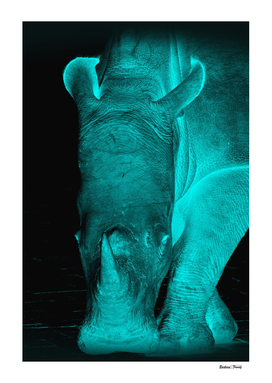 Rhino neon turquoise 6085